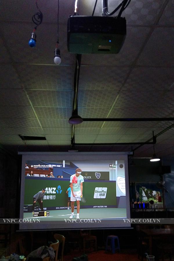 Lắp đặt máy chiếu Optoma PX390 tại Nhà Bè