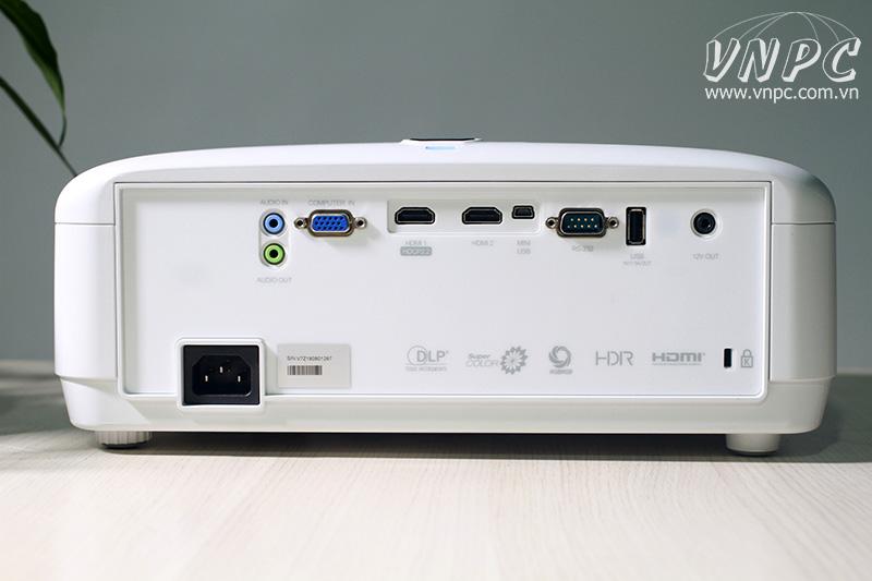 Cổng tín hiệu máy chiếu ViewSonic PX727-4K