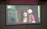 Lắp máy chiếu BenQ MH534 phòng chiếu phim NHC CINEMA Biên Hòa