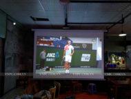 Lăp Bộ máy chiếu Optoma PX390 cho quán Cafe tại Nhà Bè