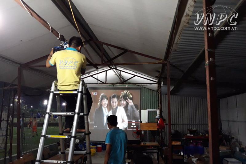 Lắp máy chiếu Optoma PS368 tại Ngõ 300 Nguyễn Xiển