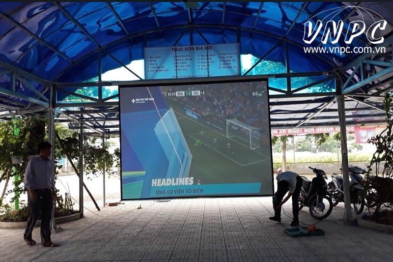 Lắp máy chiếu Optoma PX390 quán Bia Hơi tại Hà Đông, Hà Nội