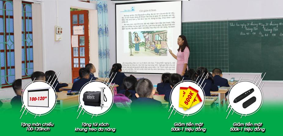 Khuyến Mãi Máy Chiếu Mừng Khai Giảng Năm Học & Mùa Bóng Mới
