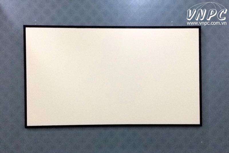 Tư vấn & lắp đặt màn chiếu khung kích thước tùy chọn