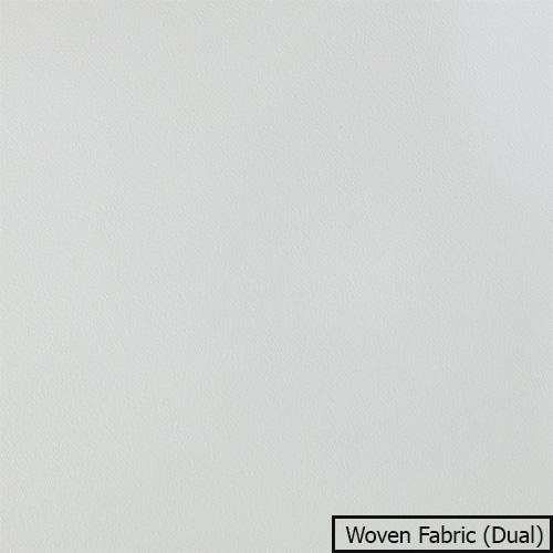 Vải màn chiếu Woven Fabric (Dual) màu trắng bắt sáng tốt