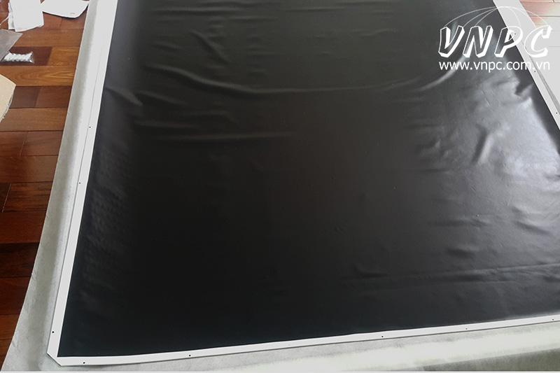 Mặt sau Vải màn chiếu Cine Max Super White PVC