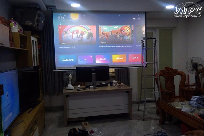 Hình chiếu thực tế máy chiếu Viewsonic PX747