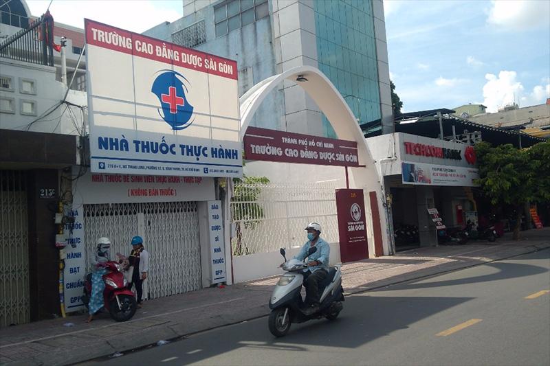 Nhà Thuốc Tự Hành - Trường Cao Đẳng Dược Sài Gòn