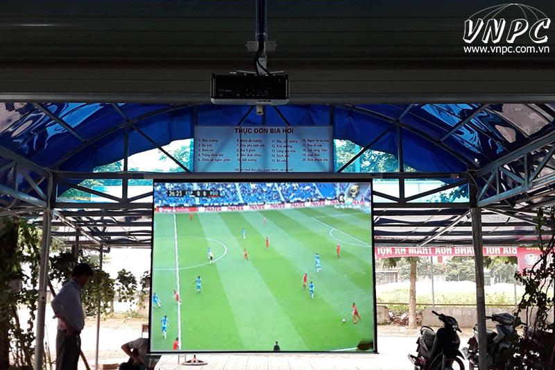 Lắp máy chiếu xem bóng đá AFF Cup 2018 tại TPHCM & Hà Nội
