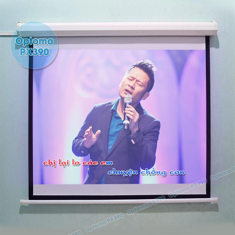 Máy chiếu hát Karaoke Optoma PX390