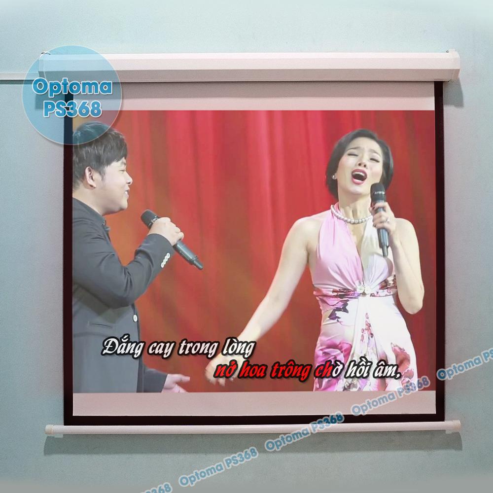Hát Karaoke từ Youtube trên máy chiếu Optoma PS368