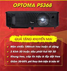 Khuyến mãi máy chiếu Optoma PS368 aff cup 2018