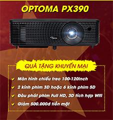 Khuyến mãi máy chiếu Optoma PX390 aff cup 2018