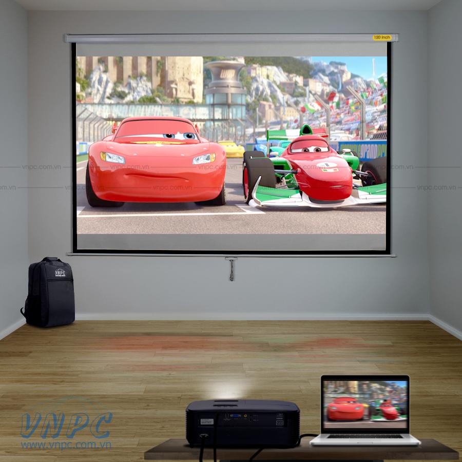 Optoma PS368 máy chiếu xem phim HD 3D gia đình giá rẻ
