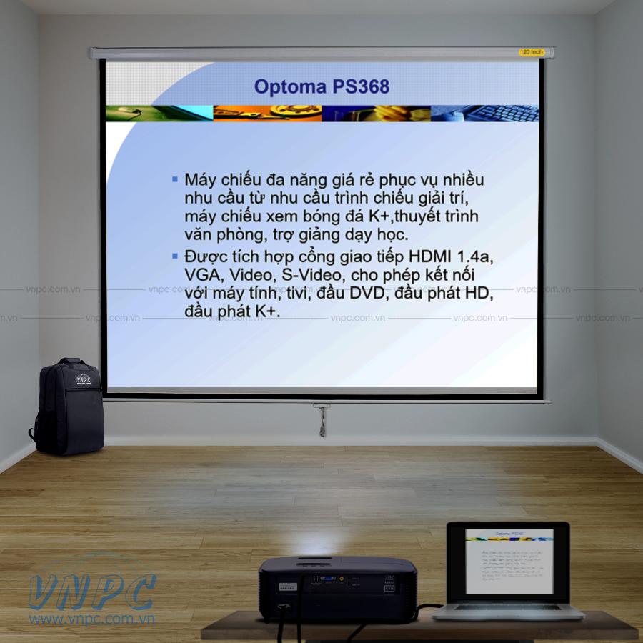 Optoma PS368 máy chiếu văn phòng, phòng họp, lớp học chất lượng