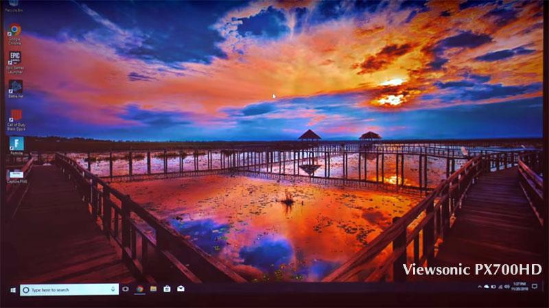 Máy chiếu Full HDViewsonic PX700HD giá tốt đa năng