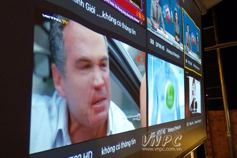 Lắp máy chiếu Viewsonic PX700HD Quán Cafe tại TX.Thuận An
