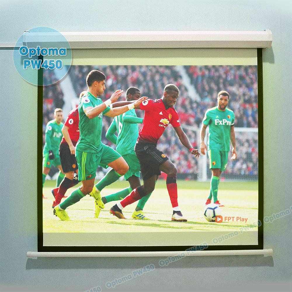 Máy chiếu bóng đá Optoma PW450