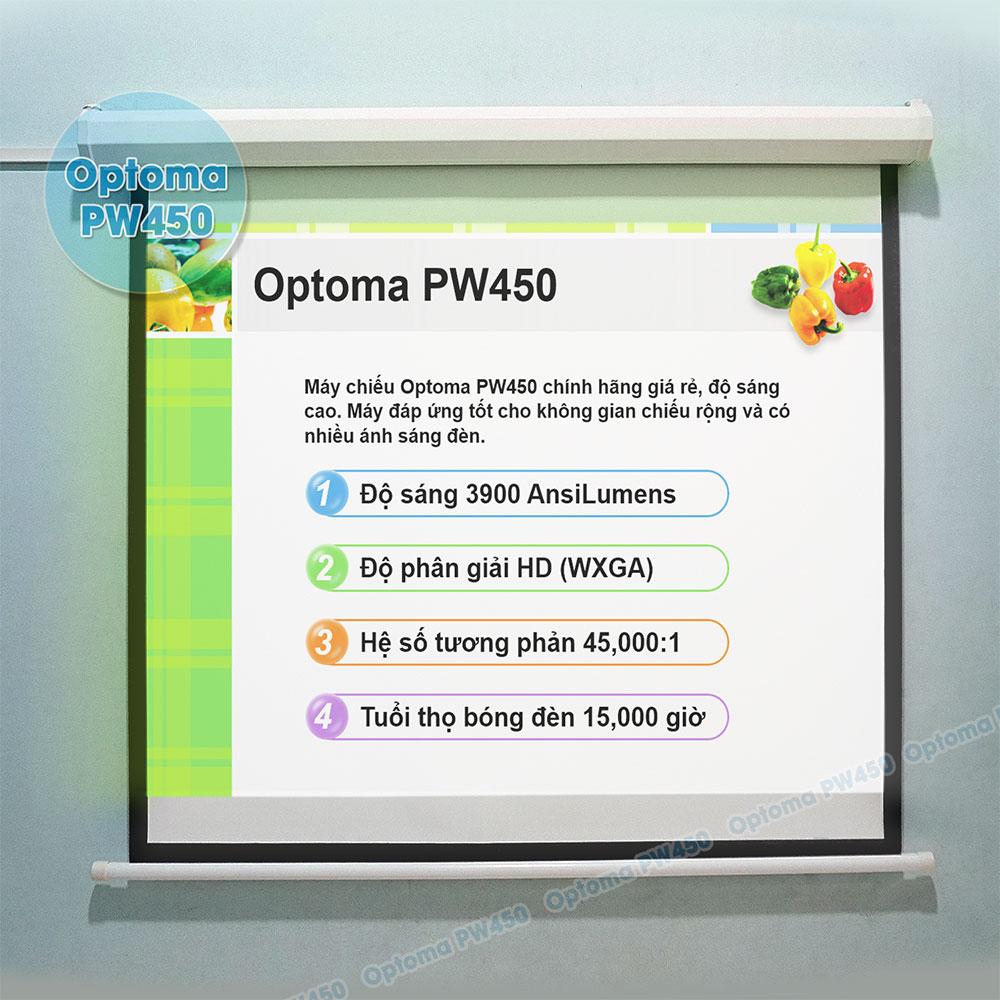 Máy chiếu văn phòng Optoma PW450