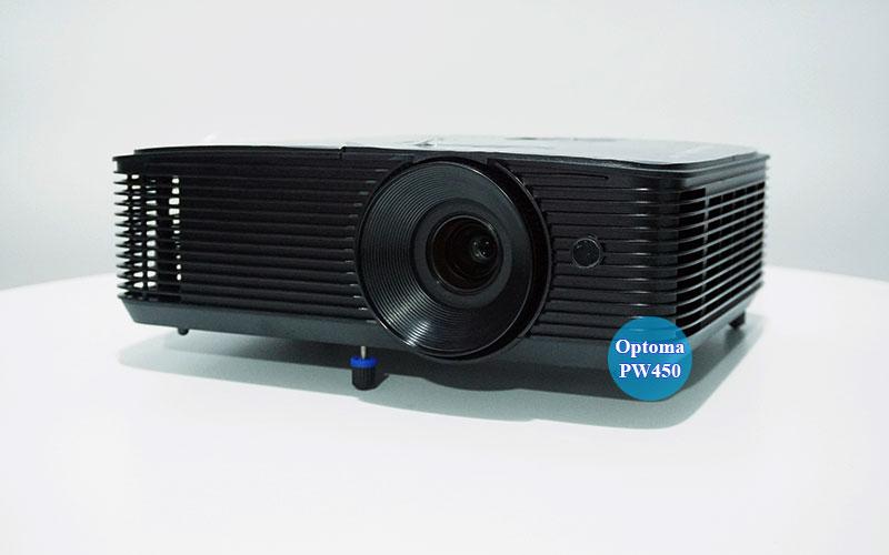 Hình ảnh thực tế máy chiếu Optoma PW450