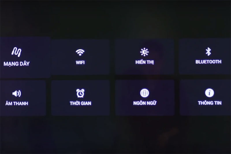 Chỉnh tỉ lệ khung hình 4:3 Máy chiếu Panasonic với đầu KTS?
