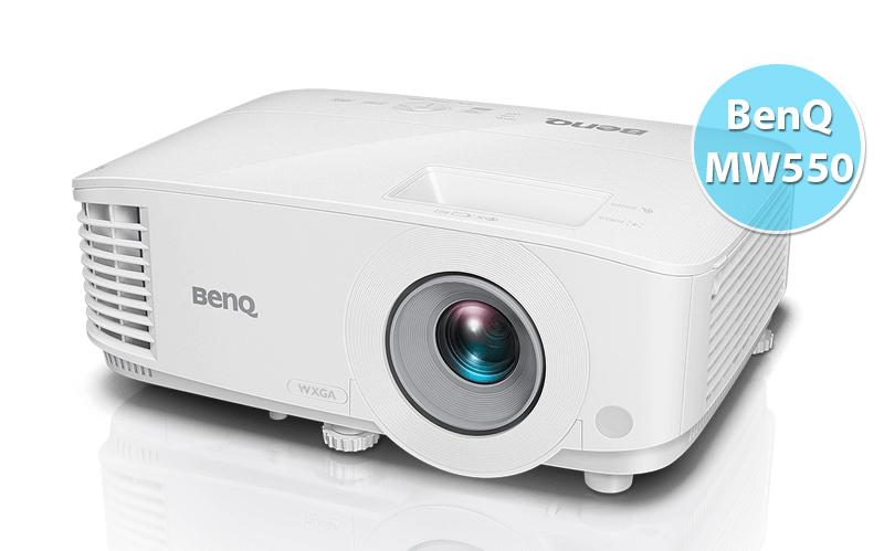 So sánh máy chiếu Optoma PW450 và máy chiếu BenQ MW550
