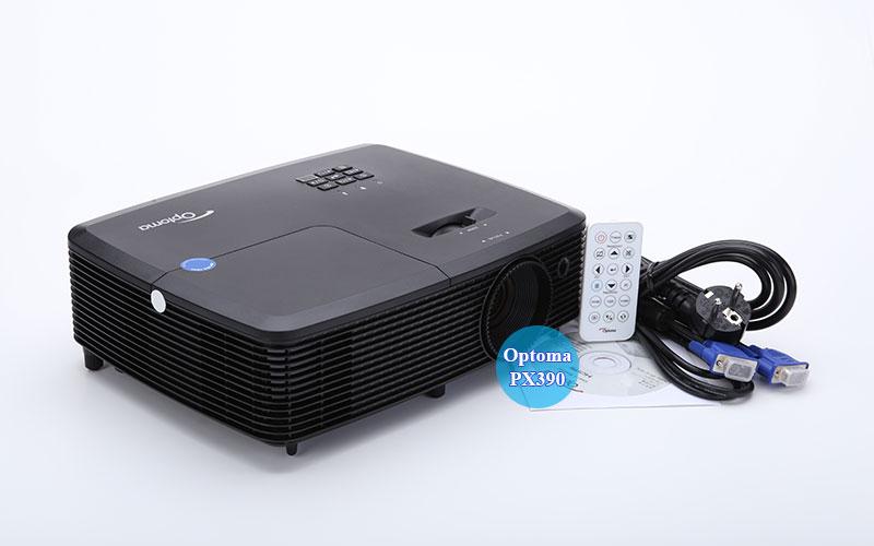 Hình ảnh thực tế máy chiếu Optoma PX390