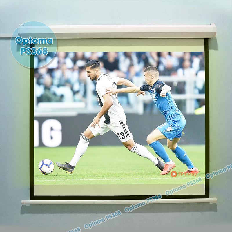 Xem bóng đá độ nét cao trên máy chiếu Optoma PS368