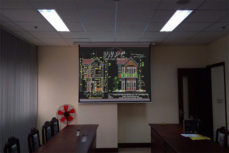 Chọn Panasonic PT-LB303 hay Optoma PW450 chiếu bản vẽ AutoCAD?