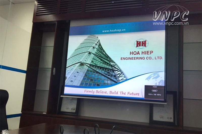 Tư vấn lắp đặt máy chiếu Optoma PX390 phòng họp nhỏ ở Hà Nội