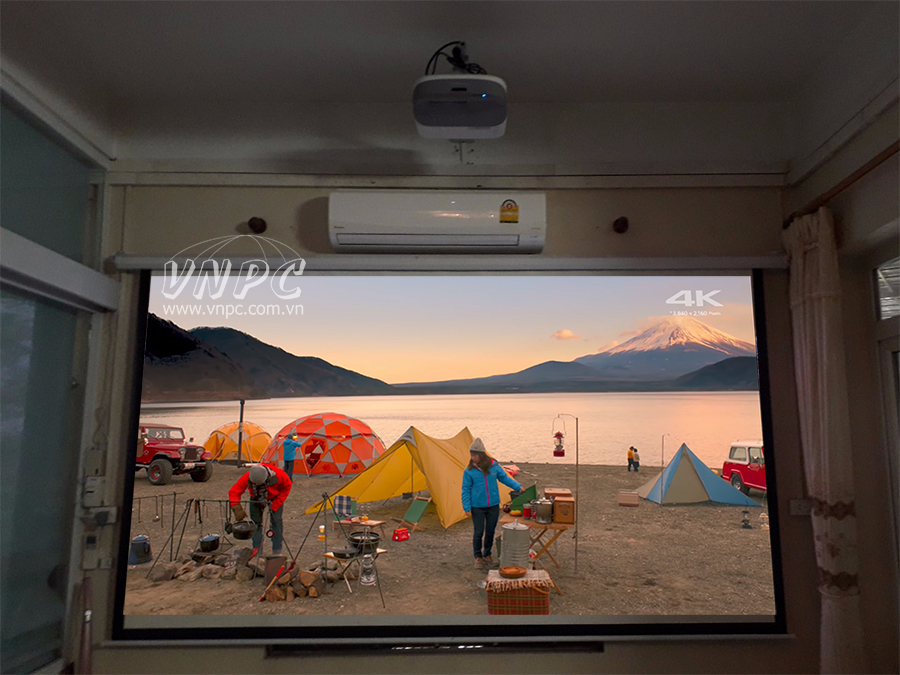 Lắp máy chiếu phim Viewsonic PX800HD tại quận Hoàng Mai