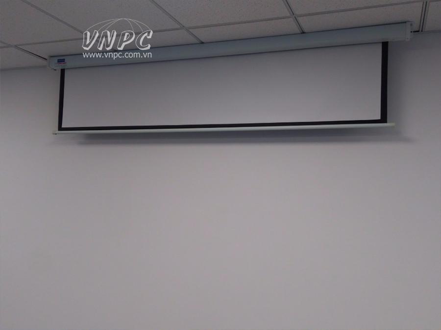 Lắp đặt máy chiếu Optoma PS368 văn phòng quận tại Tân Bình