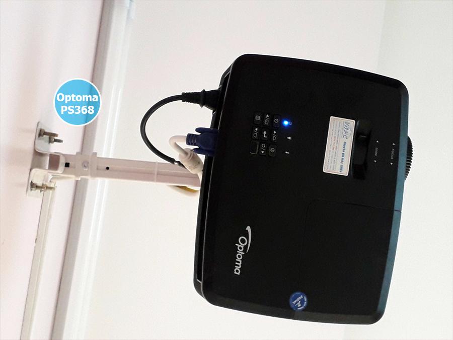 Lắp đặt máy chiếu Optoma PS368 Trung tâm Anh Ngữ Q.Cầu Giấy