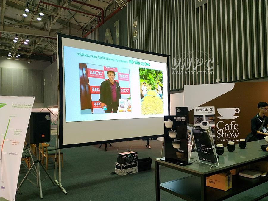 Cho thuê máy chiếu tại Trung tâm hội chợ triển lãm Sài Gòn