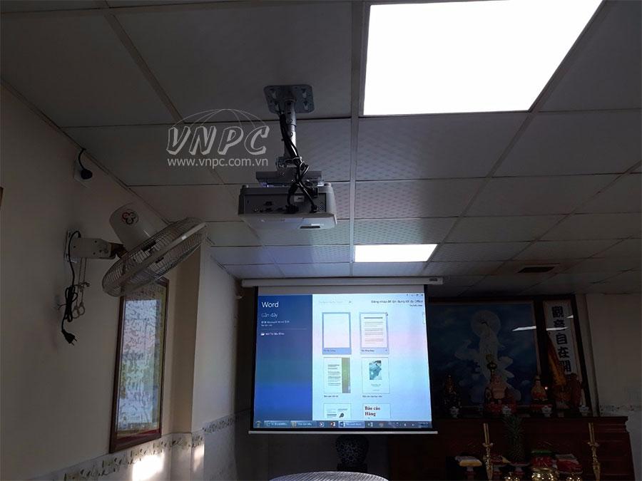 Lắp đặt máy chiếu Viewsonic PA503X tại huyện Bình Chánh