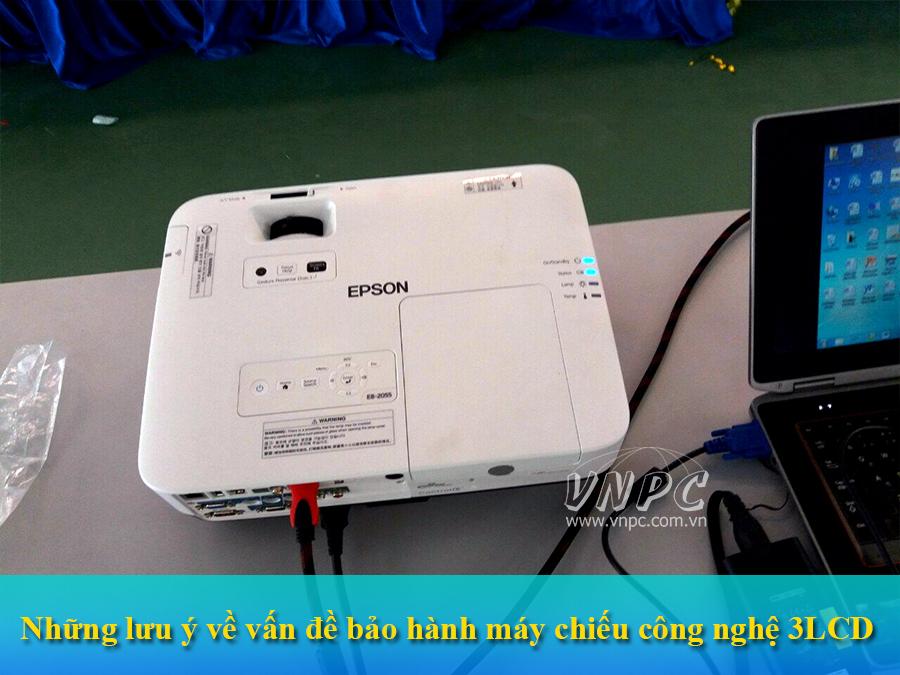 Những lưu ý về vấn đề bảo hành máy chiếu công nghệ 3LCD