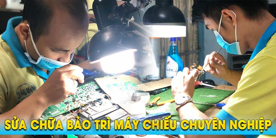 Sửa máy chiếu giá rẻ tận nơi uy tín nhất tại TpHCM & Hà Nội
