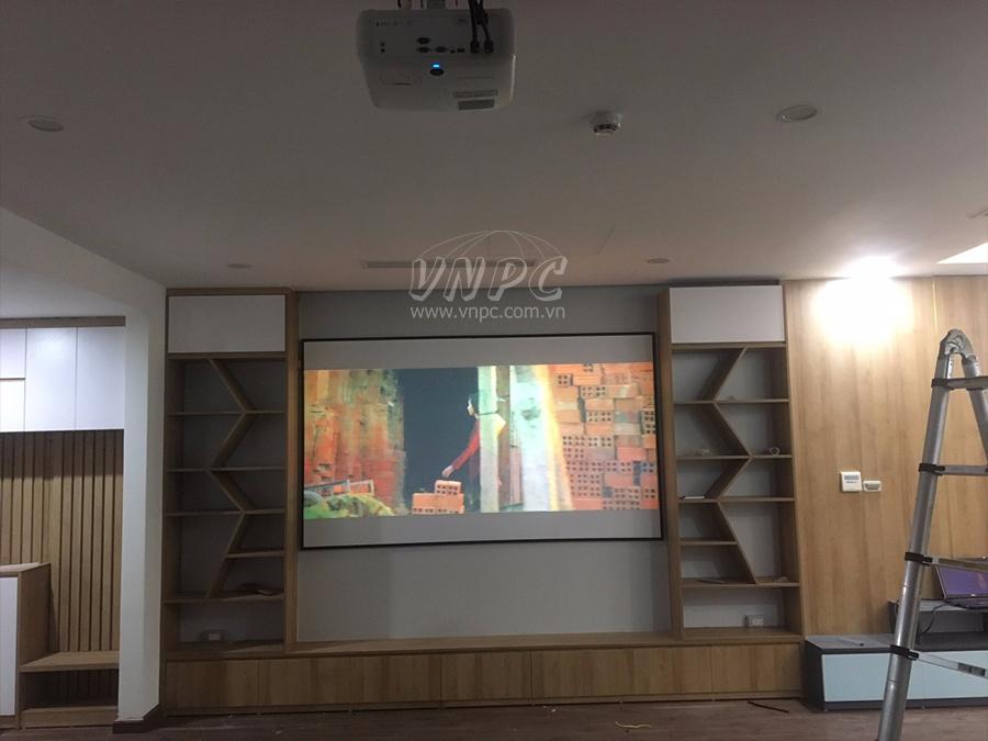 Lắp đặt máy chiếu phim gia đình Full HD Viewsonic PX700HD