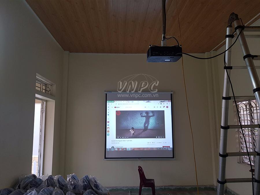 Lắp đặt máy chiếu Optoma PX390 Huyện Phú Xuyên, Hà Nội