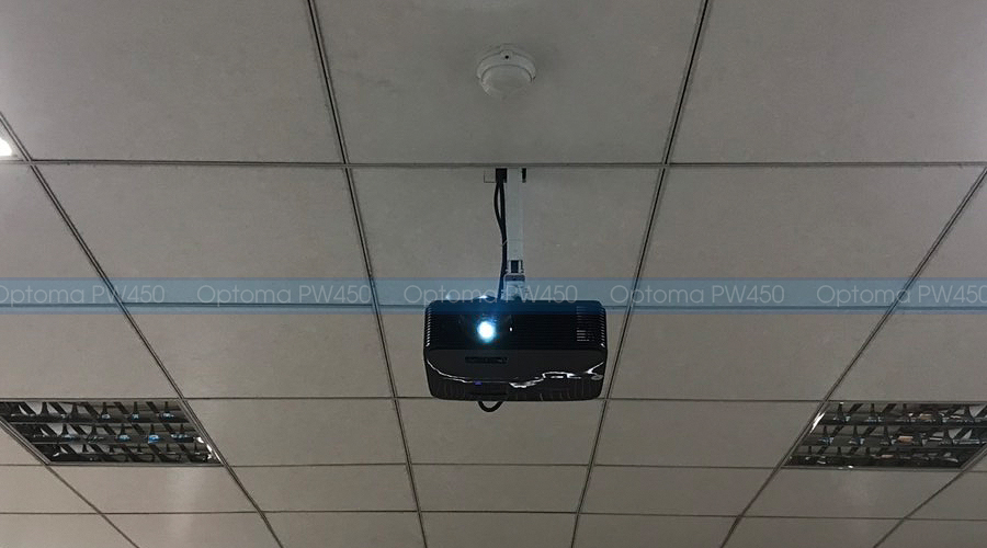 Lắp đặt máy chiếu Optoma PW450