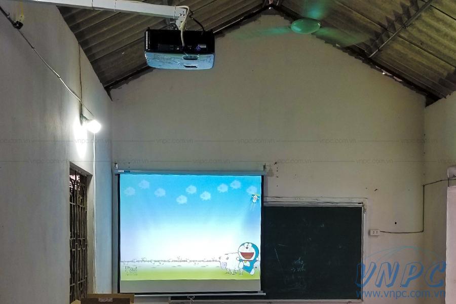 Lắp Optoma PS368 cho lớp học tại Bắc Ninh