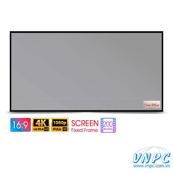 Màn chiếu khung cố định 200 inch CINEMAX