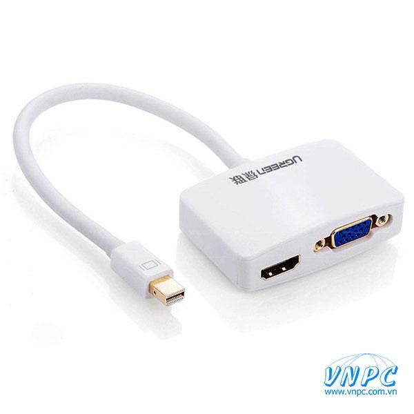 Cáp chuyển Mini Displayport to HDMI và VGA