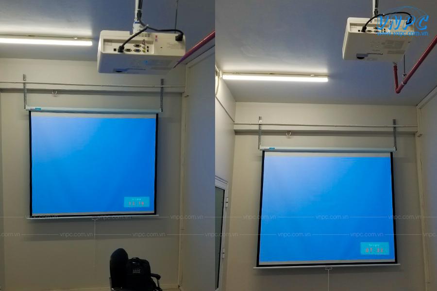 VNPC lắp đặt máy chiếu Panasonic PT-LB305 tại CEMCO