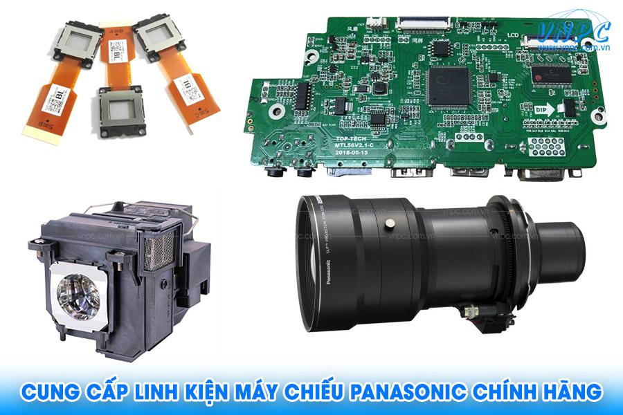 VNPC cung cấp linh kiện máy chiếu Panasonic chính hãng