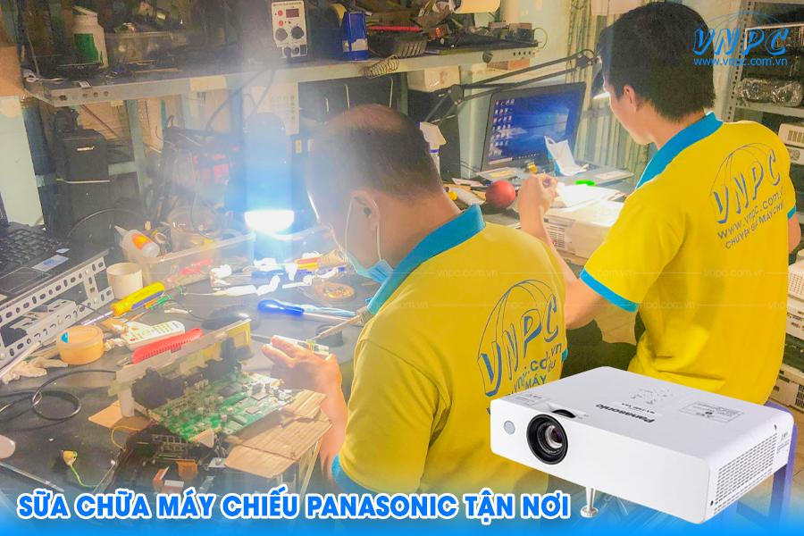 VNPC cung cấp dịch vụ sửa chữa máy chiếu Panasonic tận nơi