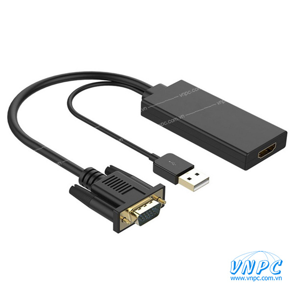 Cáp chuyển đổi VGA sang HDMI chính hãng Unitek