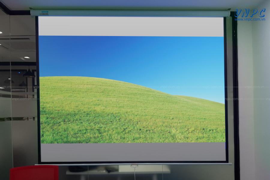 VNPC lắp đặt máy chiếu Epson EB-X05 cho phòng họp