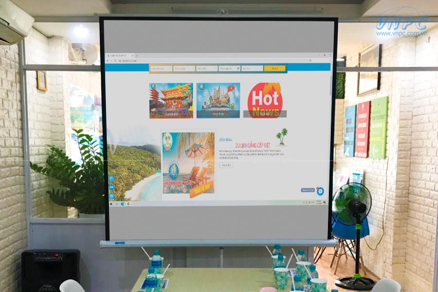 Cho thuê máy chiếu văn phòng 4000 lumens tại VietPro Travel