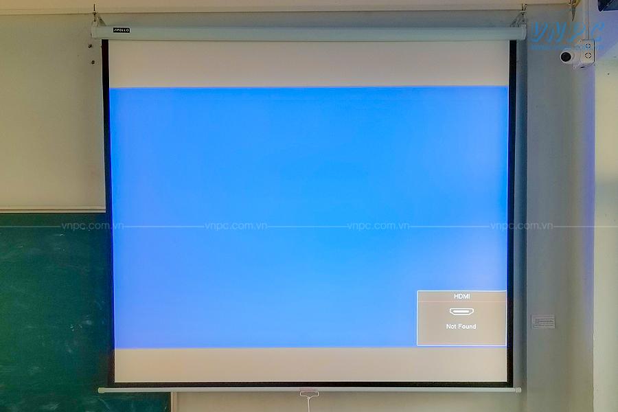 Lắp đặt Optoma PS368 tại Trường THPT Thạch Bàn